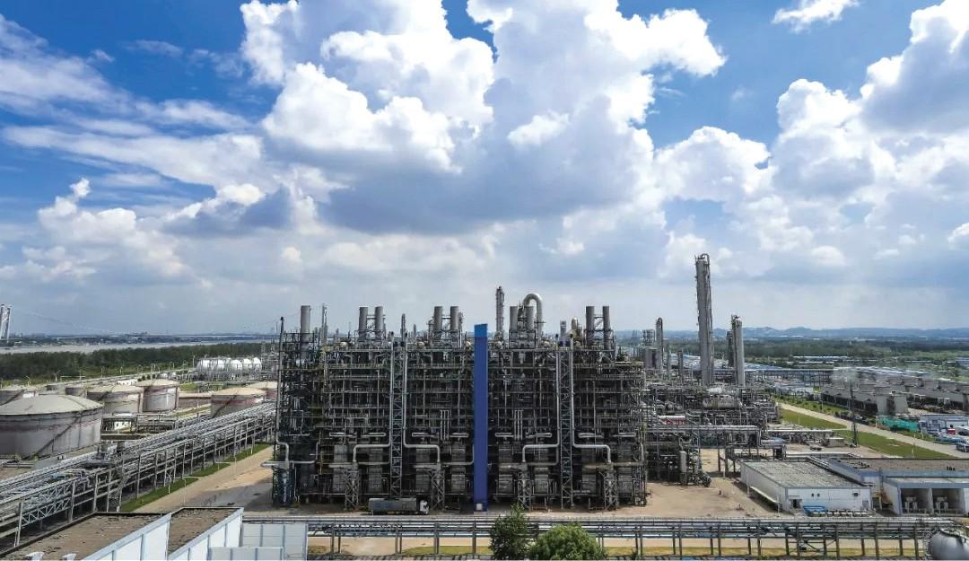 中韩(武汉)石油化工有限公司乙烯脱瓶颈改造项目