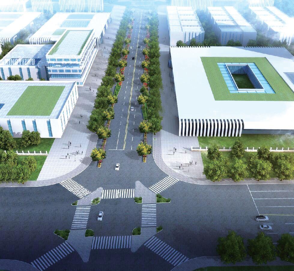 武汉开发区新滩新区金滩路新建工程